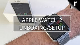 Apple Watch 2 Unboxing, Setup and Hands-on Review (UK)