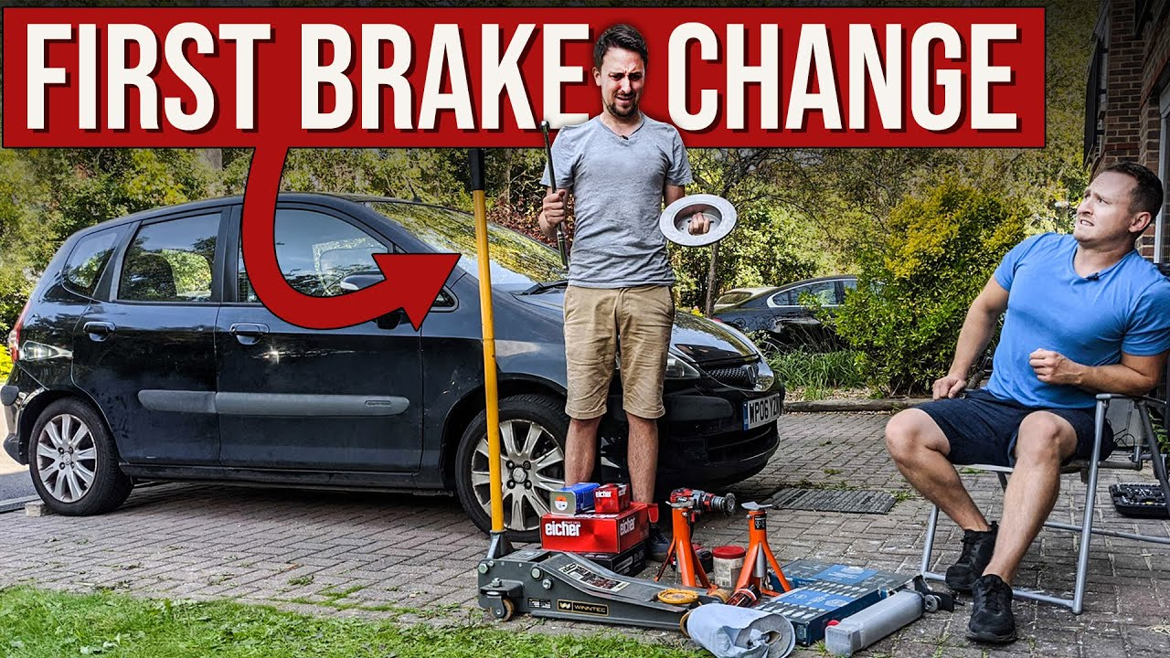 Non-Car Guy Changes Brakes For The First Time