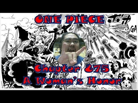 One Piece Chapter 875 Live Reaction - A Woman's Honor