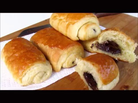 PAIN au CHOCOLAT Easy Recipe #66