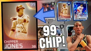 WE GOT 99 IMMORTAL CHIPPER JONES AND CHOKED! RAGE! MLB THE SHOW 18 BATTLE ROYALE
