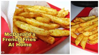 Quick French Fries Recipe |How to make Crispy French Fries at Home