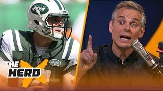 Colin Cowherd on Jets' trust in Sam Darnold, Talks Jon Gruden | NFL | THE HERD