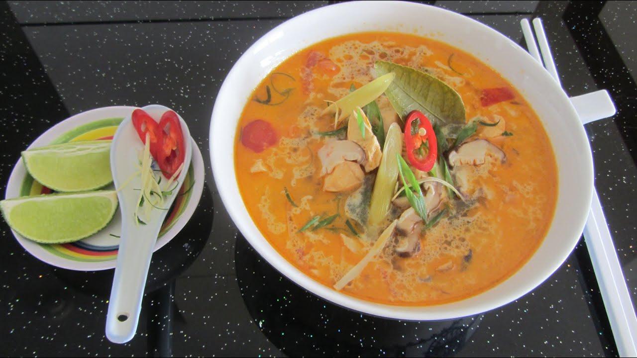 рецепты супа том ям видео