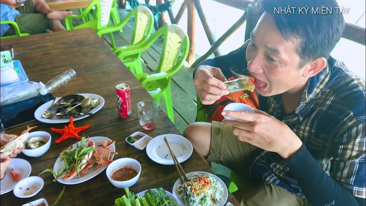 Du lịch Phú Quốc | THỬ ĂN GỎI CÁ TRÍCH SỐNG MÓN ĂN ĐẶC SẢN Phú QUỐC | cocking phuquoc