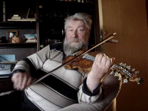 Haakon Solaas plays Fanitullen on the hardanger fiddle