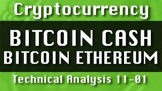 BITCOIN CASH : BITCOIN : ETHEREUM Update-11-01 CryptoCurrency Technical Analysis