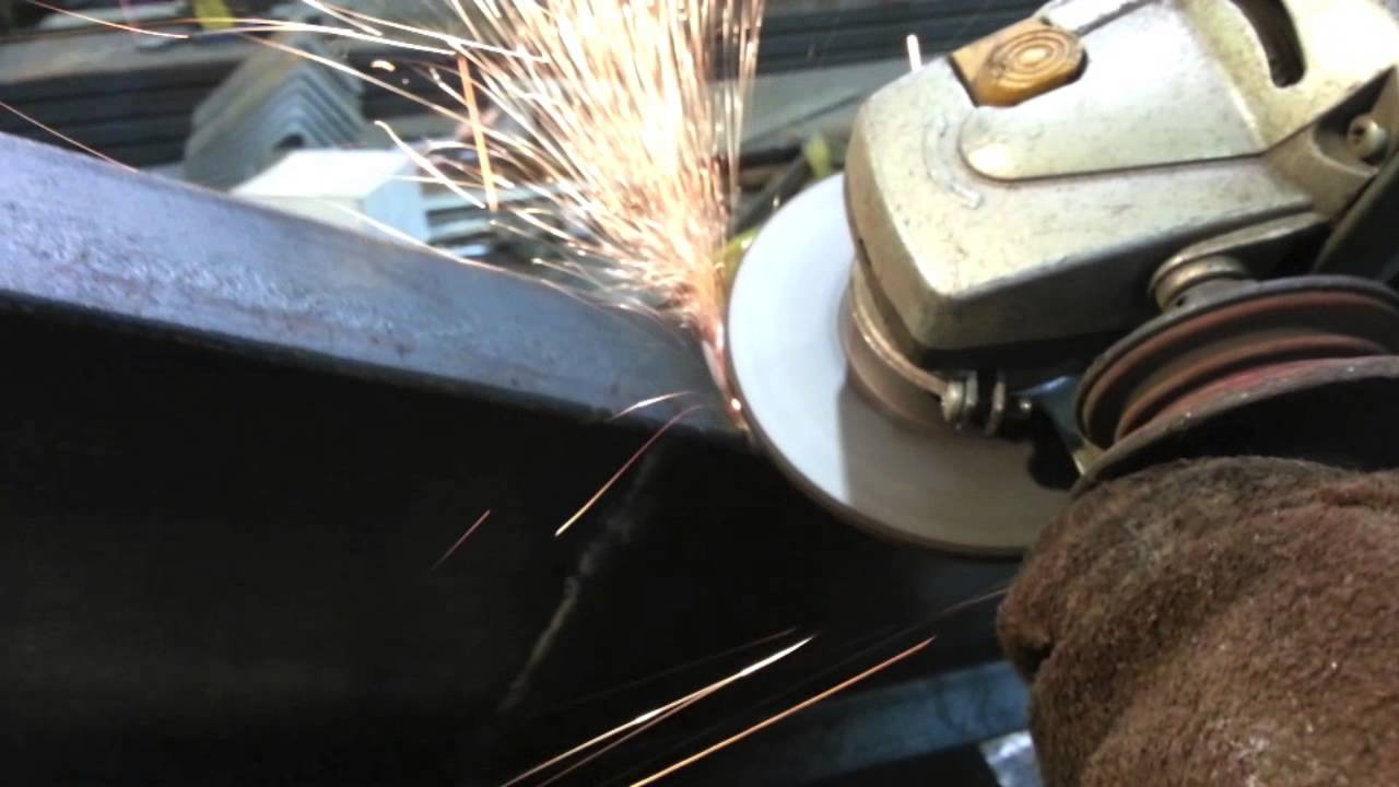 How To Use A Grinding Wheel To Grind A Corner Weld Aa