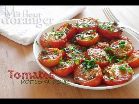recette-des-tomates-rôties-/-roasted-tomatoes-recipe