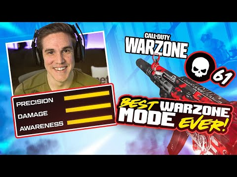 WARZONE'S CRAZIEST MODE EVER!! 61 KILLS WITH THIS *OVERPOWERED* MP5 SETUP! (WARZONE)