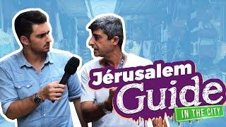 Apprendre l'hébreu dans les rues de jérusalem - débuter avec