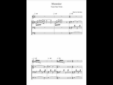 Moonraker Score Venini Glass Works