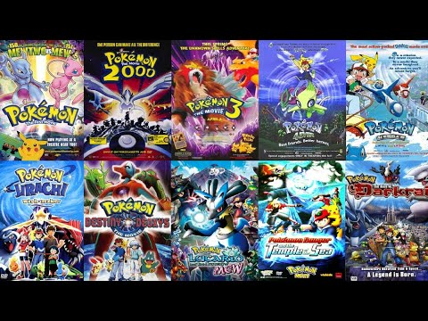 All Pokemon Movies 1 To 21 || Journey Zone