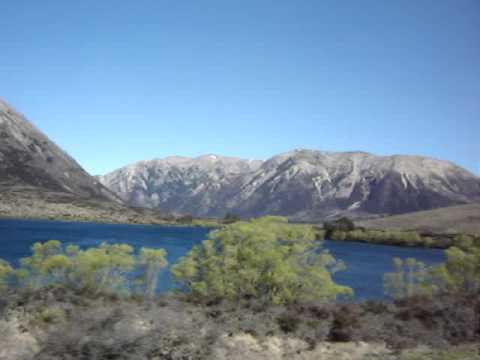 South Island New Zealand - Trip by BUS