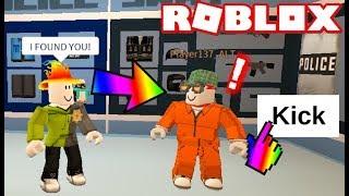 Super Player Blox - HIDE AND SEEK! (Roblox Jailbreak)