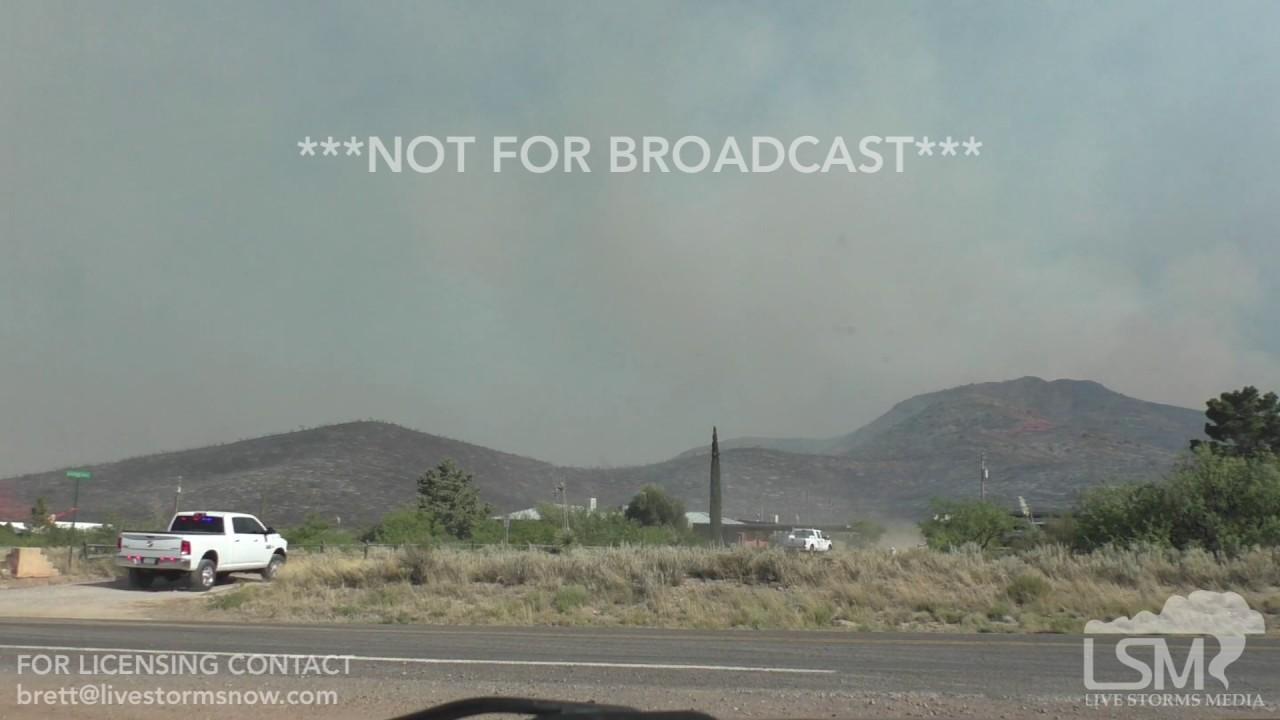 Arizona cochise county cochise - Lizard Wildfire 06 10 2017 Dragoon Arizona Cochise County Wildfire