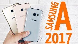 Обзор Samsung Galaxy A (2017): A3, A5, A7