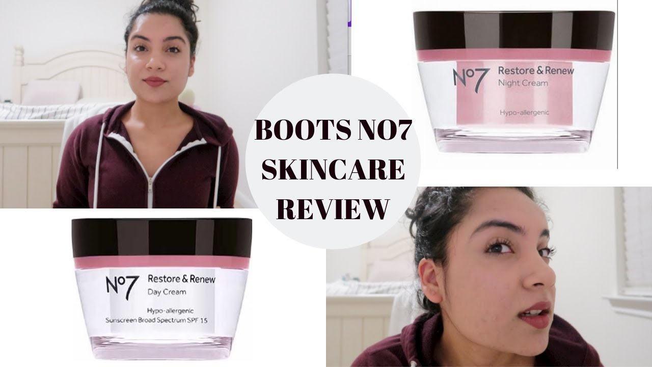 Anti Aging Products At 21?- Boots No 7 Renew And Restore Moisturizer  Skincare Reviews