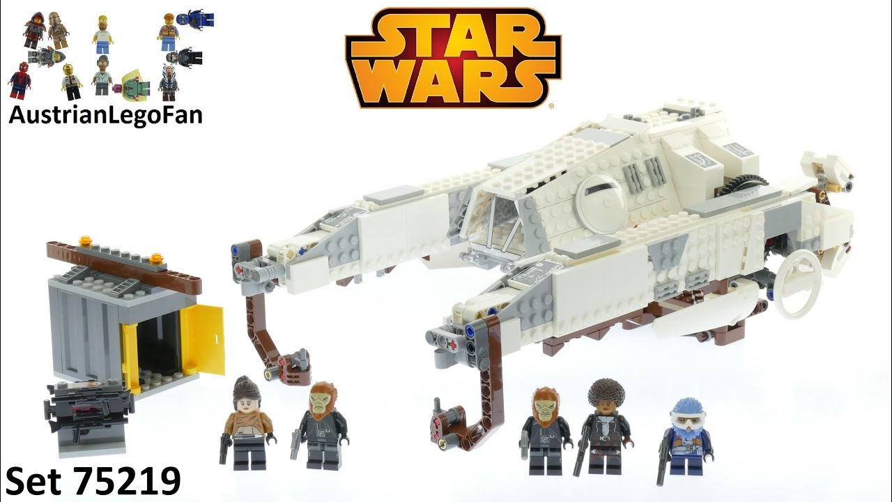 Lego Star Wars 75219 Imperial AT-Hauler - Lego Speed Build Review
