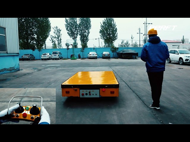 Factory used material electric transfer car