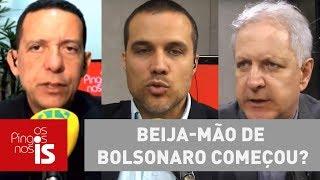 Debate: Beija-mão de Bolsonaro começou?