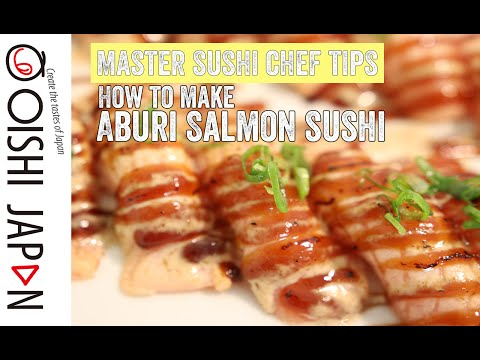 How to make seared salmon sashimi