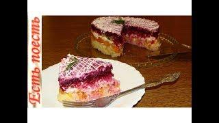"""""""Овощной торт"""" -  салат очень вкусный и бюджетный."""