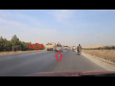 لقاء غير متوقع بين القوات السورية والأمريكية  في طريق سريع!  - نشر قبل 2 ساعة