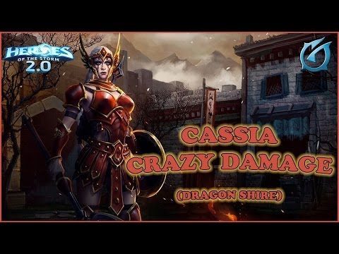 Grubby   Heroes of the Storm 2.0   Cassia - New Hero: Javelin Amazon from D2 -Dragon Shire!