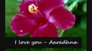 i love you aaradhna