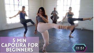 5 Minute Capoeira Basics Workout | Brazilian Warrior Workout