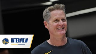 Checking In with Head Coach Steve Kerr