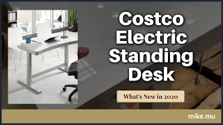 Tresanti Powered Adjustable Height Desk at Costco | 2020 Quick Look