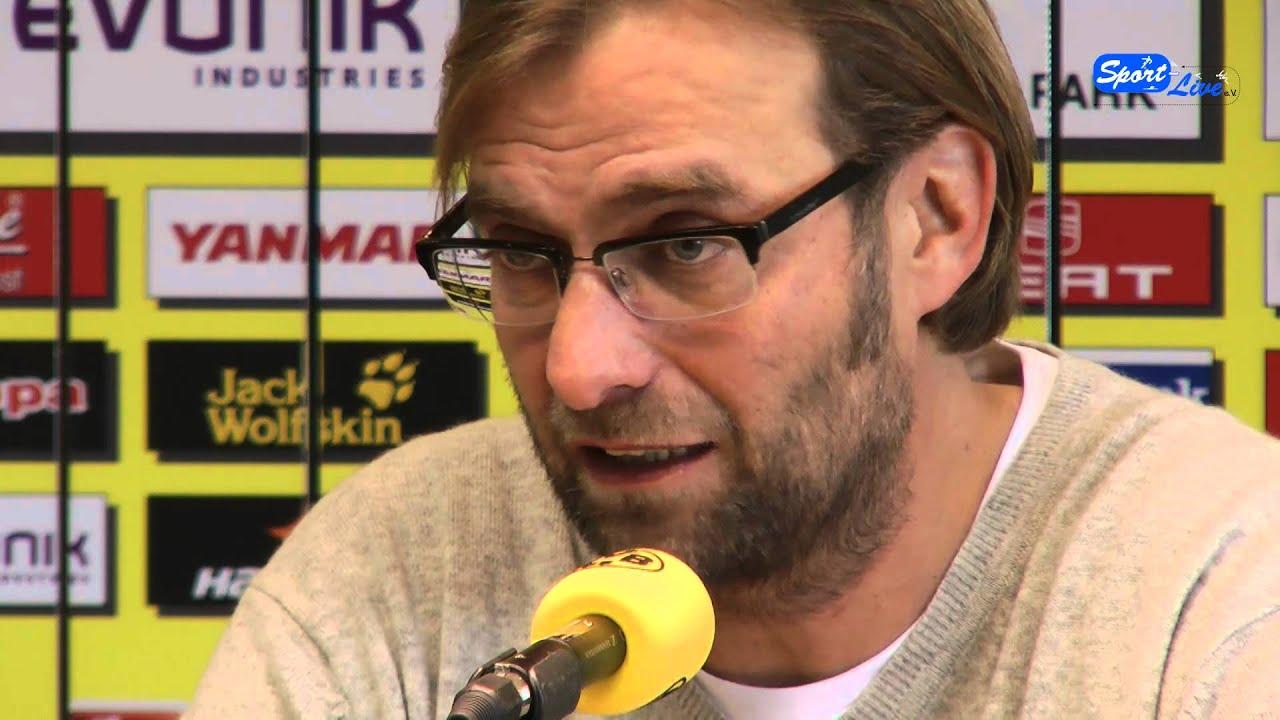 PK Borussia Dortmund vor dem Bundesligaheimspiel gegen den 1. FC Kaiserslautern (Teil 2)