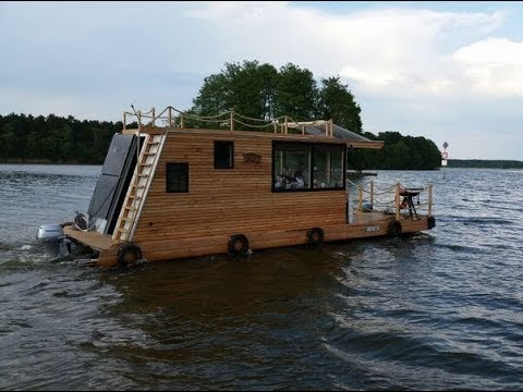 These Houseboats May Seem Tiny But You Will Be Surprised When You See Their Interior!