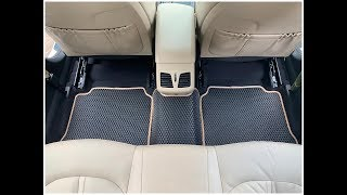 Luxury Custom Made Car Floor Mats Carpets Waterproof
