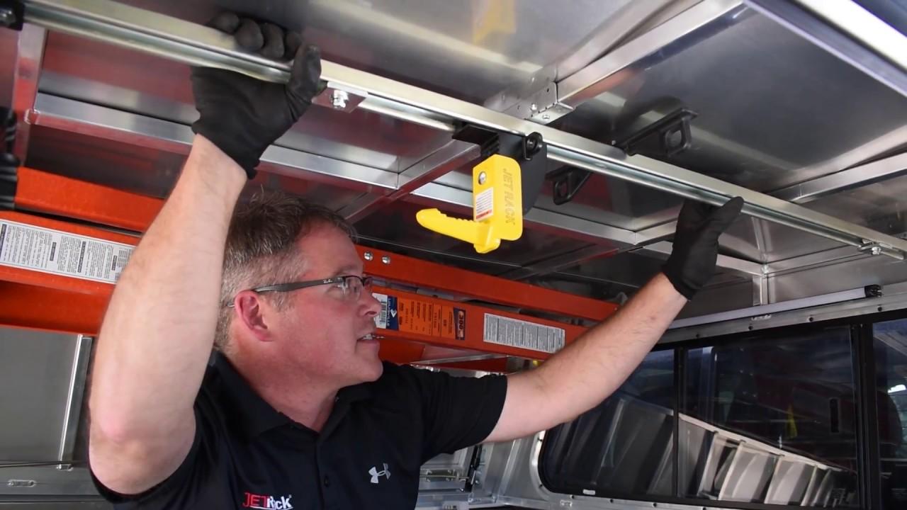 jet rack universal mounting kit installation