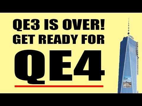 QE3 Finished. QE4 Coming Soon! Trillions of Debt Being Covered Up By the Fed!