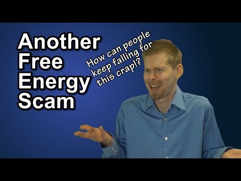 Another Free Energy Scam