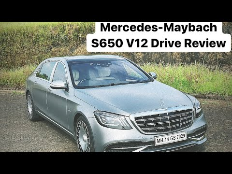 Mercedes-Maybach S650 V12 - Drive Review (Hindi + English)