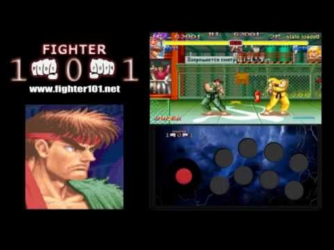 Ryu Combos And Advanced Super Cancels - Super Street Fighter 2 Turbo