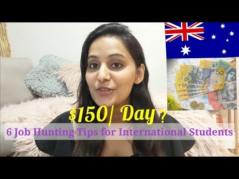 6 Tips to Find a Job in Australia as International Students Fast | Real Talk | Complete Guide