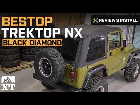 Jeep Wrangler Bestop Trektop NX (1997-2006 Wrangler TJ