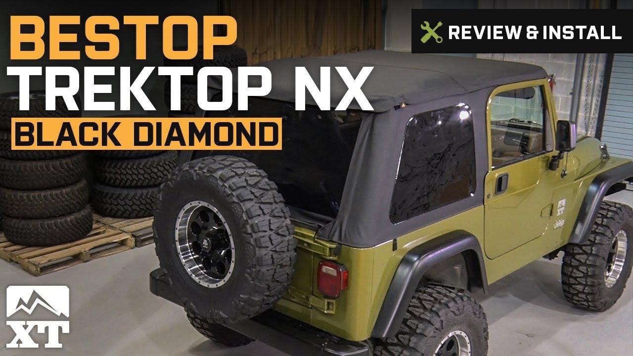 Jeep Wrangler Bestop Trektop NX (1997-2006 Wrangler TJ) Review & Install