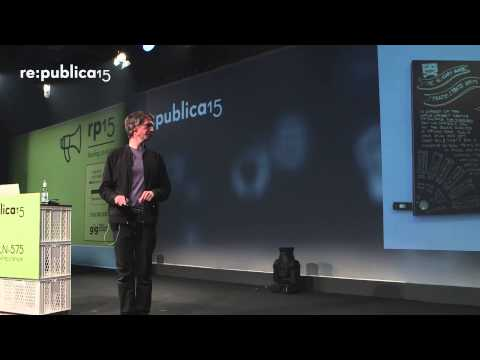 re:publica 2015 – Aram Bartholl: Online, Offline and all-over the city on YouTube