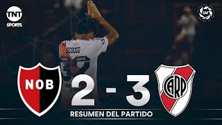 Video: Resumen de Newell's Old Boys vs River Plate (2-3) | Fecha 15 - Superliga Argentina 2019/2020