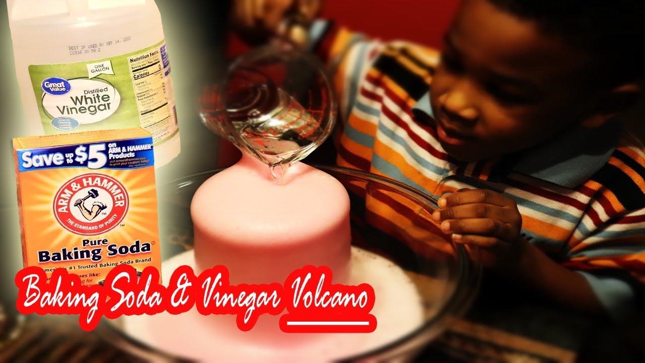 Balloon Baking Soda Vinegar Science Experiment for Kids