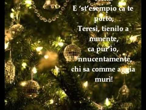 Auguri Di Natale Napoletano.Salvatore Di Giacomo Buono Natale Le Videopoesie Di Gianni