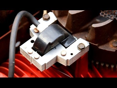 briggs and stratton magneto wiring diagram home circuit diagrams how to set/adjust the air gap on small engines armature coil - youtube