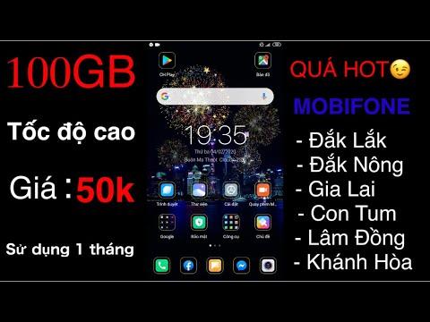 Quá Đã MobiFone 100GB Giá 50K Dùng 1 Tháng 👉Cách Đăng Ký